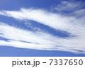 すじ雲 クリーンイメージ 空の写真 7337650