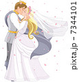 嫁 新婦 花嫁のイラスト 7344101