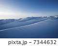 グレートスレイブ湖の雪原 7344632