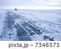 アイスロード グレートスレイブ湖 道の写真 7346373