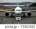 牽引 飛行機 旅客機の写真 7382482