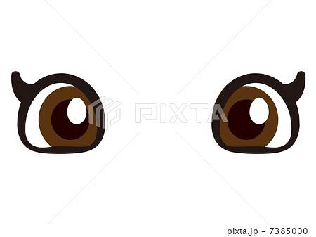 かわいい目のイラスト素材 7385000 Pixta