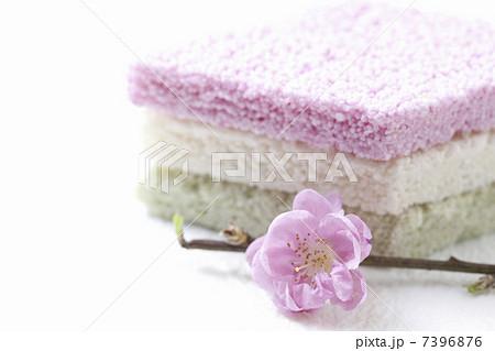 桃の花と菱餅 7396876