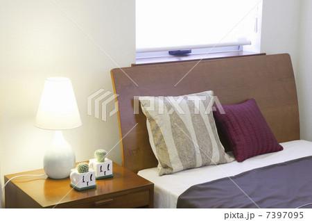 寝室の写真素材 [7397095] - PIXTA