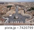 サン・ピエトロ大聖堂からの眺望(バチカン市国) 7420799