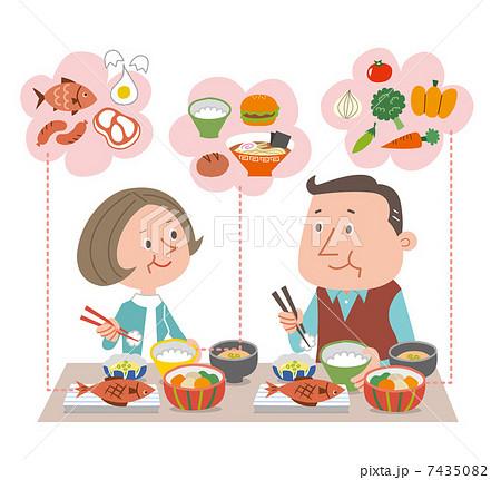 食事 バランス  7435082
