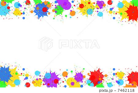 ペイントのイラスト素材 [7462118] - PIXTA