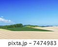 農地 畑 丘の写真 7474983