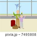 旅行するシニア 7493808