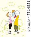 ベクター 家族 親子のイラスト 7514851
