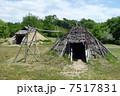 竪穴住居その2 縄文時代 7517831