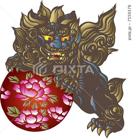 唐獅子 7550376