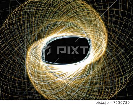 覆い被さる光彩の光跡のイラスト素材 [7550789] - PIXTA