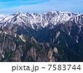 北アルプス 鷲羽岳 水晶岳の写真 7583744