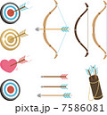 弓矢 ベクター 弓のイラスト 7586081