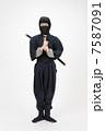 男性 人物 忍者の写真 7587091