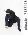 男性 人物 忍者の写真 7587428