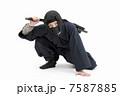 男性 人物 忍者の写真 7587885