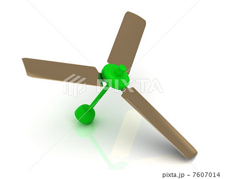 Green ceiling fan with a reflective surface 7607014 green ceiling fan with a reflective surface mozeypictures Images