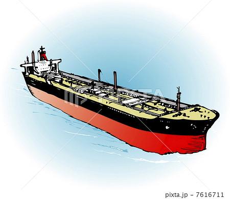 イラスト素材: オイルタンカー : 魚 イラスト 無料素材 : イラスト