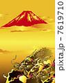 龍と富士山 7619710