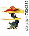 龍と富士山 7620282