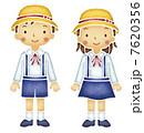 幼稚園児の男の子と女の子 7620356