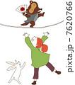 ぶんぶくちゃがま 女の子 人物のイラスト 7620766