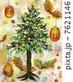 ツリー クリスマス クリスマスツリーのイラスト 7621146