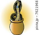 蛇 爬虫類 動物のイラスト 7621968