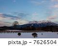 木曽馬の里からの御嶽山 7626504