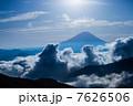 池の茶屋林道からの富士山 7626506