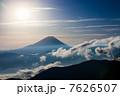 池の茶屋林道からの富士山 7626507