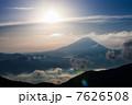 池の茶屋林道からの富士山 7626508