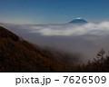 池の茶屋林道からの富士山 7626509