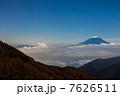 池の茶屋林道からの富士山 7626511