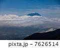 池の茶屋林道からの富士山 7626514