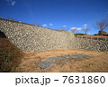 横須賀城 石垣 城の写真 7631860