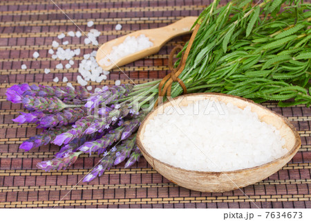 Lavender spa setの写真素材 [7634673] - PIXTA