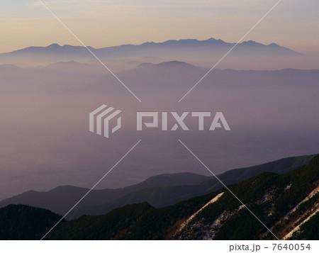 シルエット八ヶ岳 7640054