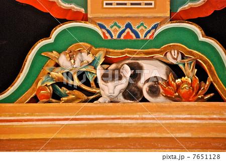 日光東照宮の「眠り猫」(日光東照宮・東回廊/栃木県日光市山内) 7651128