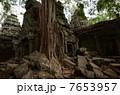 カンボジア アンコールワット 遺跡の写真 7653957