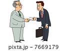 ベクター 営業 ビジネスマンのイラスト 7669179