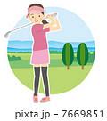 レディースゴルファー 7669851