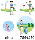 ゴルフ選手  7669859