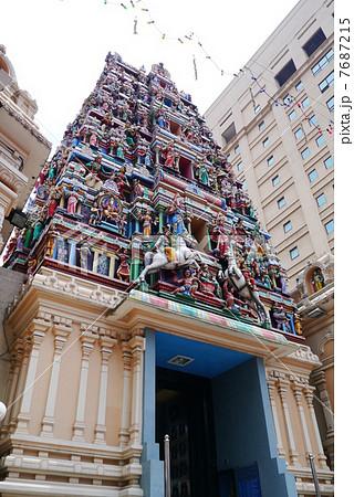 クアラルンプール スリマハマリアマン寺院 7687215