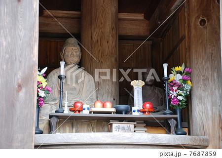山口・瑠璃光寺五重塔ご開帳で大内義弘像と阿弥陀如来が並んでました 7687859
