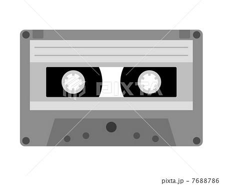 カセットテープのイラスト素材 7688786 Pixta