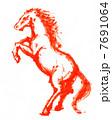午年 午 馬のイラスト 7691064