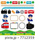 鉄道展 鉄道フェア イベント 広告 イラスト 7712359